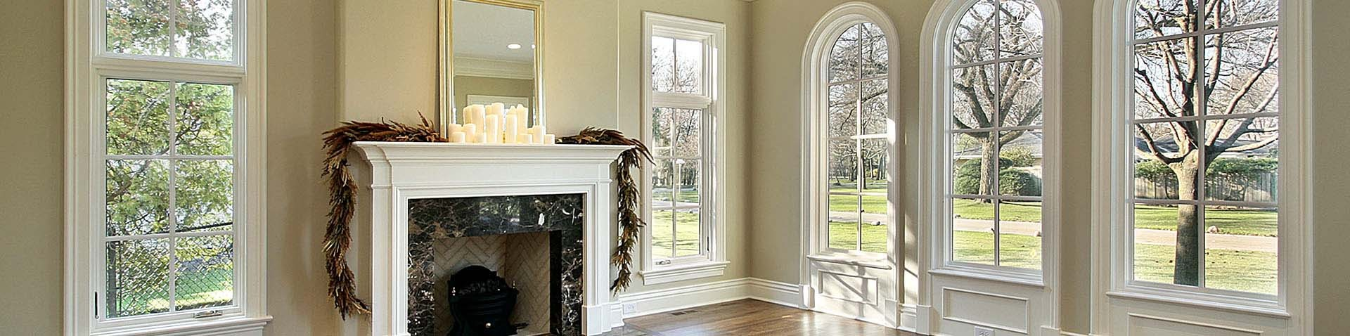 Interior window frames -  Interior Windows With White Frames Banner